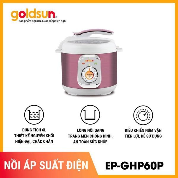 Bảng giá [ELJUL100K Giảm 5% Tối Đa 100k] Nồi áp suất điện đa năng GOLDSUN EP-GHP60P 6L Điện máy Pico