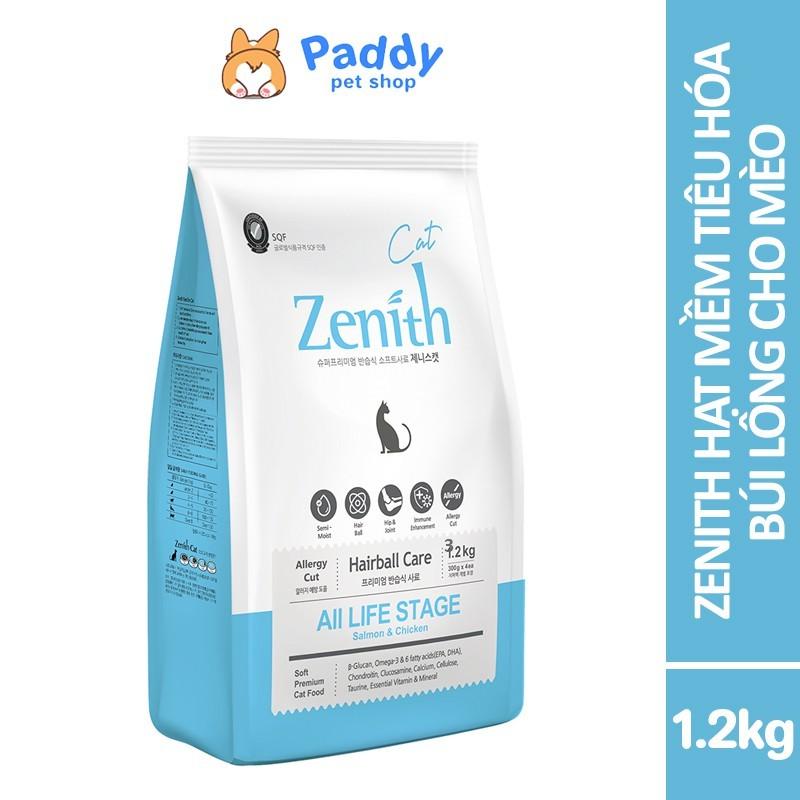 Zenith Thức ăn hạt mềm cho mèo Hairball - 1.2kg (300g*4)