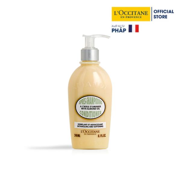 Dâu xả hạnh nhân Loccitane Almond Conditioner 240ml nhập khẩu