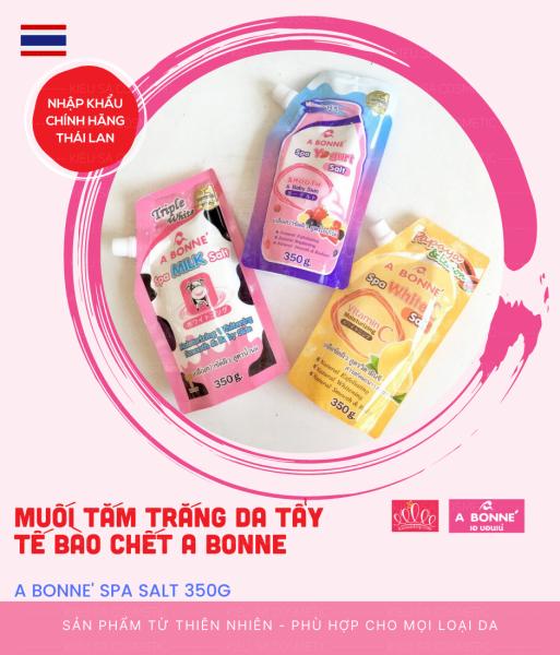 Muối Tẩy Da Chết Spa A Bonne Thái Lan 350g (Có Vòi)