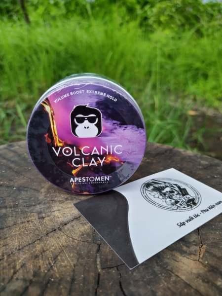[ Chính hãng Apestomen ] Tem SMS Sáp vuốt tóc  Volcanic clay cao cấp