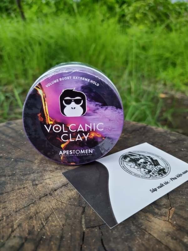 [ Chính hãng Apestomen ] Tem SMS Sáp vuốt tóc  Volcanic clay giá rẻ