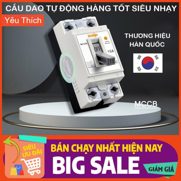 [HÀNG CHÍNH HÃNG]  Cầu Dao Tự Động (CB khối, aptomat cóc) DOBO Hàn Quốc siêu nhạy chống quá tải - Siêu nhạy - Bảo vệ quá tải - Bảo Hành Chính Hãng 12 tháng