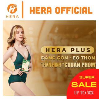 Trà thảo mộc giảm cân HERA Plus Trà thảo mộc hỗ trợ giảm cân, kiểm soát cân nặng thumbnail