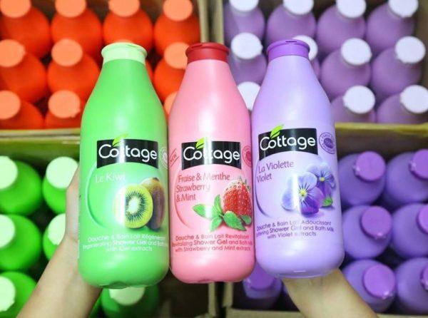 Sữa tắm pháp  300ml - Hương thơm nước hoa quyến rũ giá rẻ