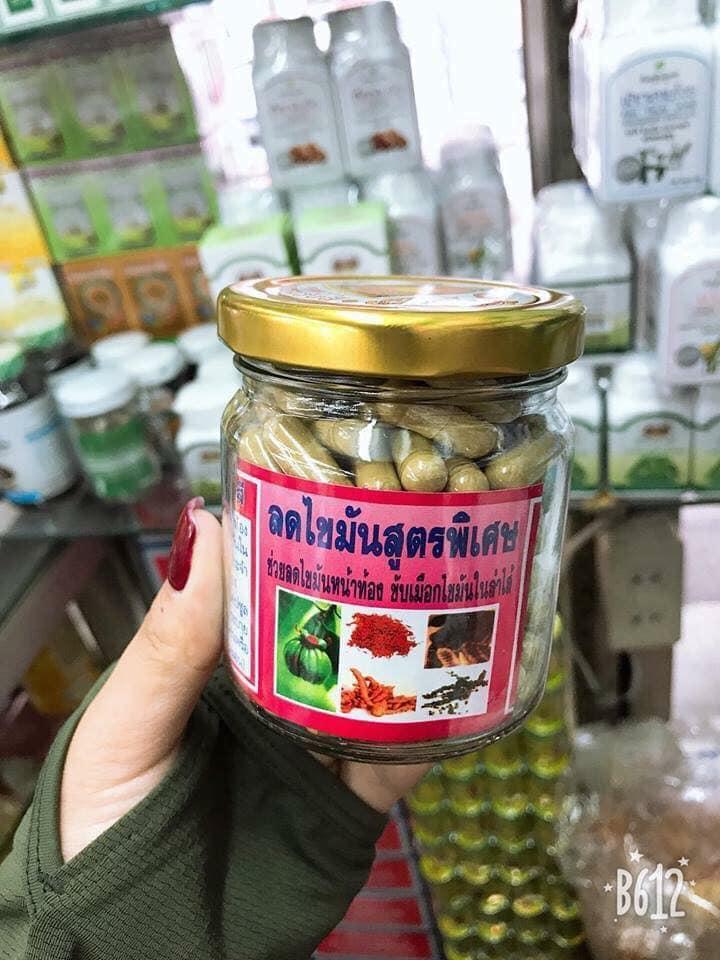 Đông y gia truyền, giảm mỡ bụng Thái Lan - 150 viên nhập khẩu