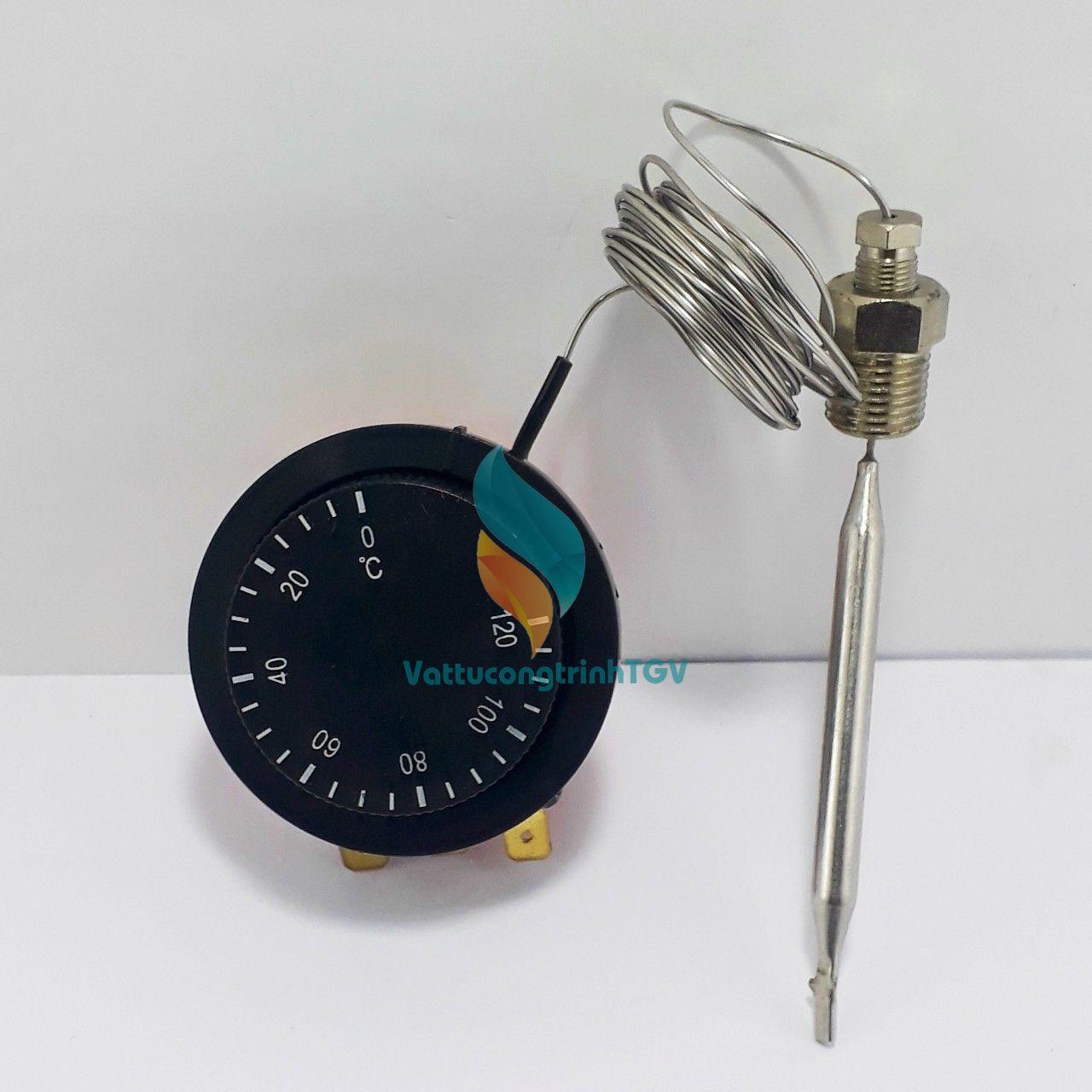 Bộ rơle điều chỉnh nhiệt  0-120 độ cho nồi nấu phở