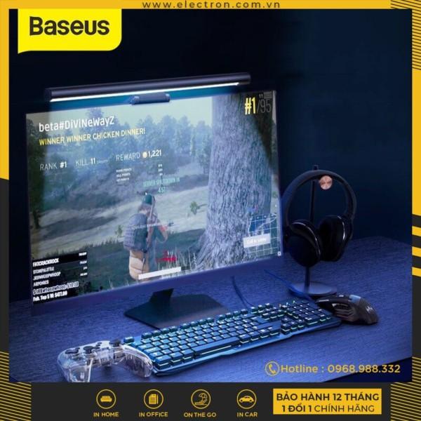 Bảng giá Đèn treo màn hình bảo vệ mắt Baseus i-Work Series (3 Light Mode, Anti Bluelight, USB Stepless Dimming Screen Hanging Light, New Model) Phong Vũ