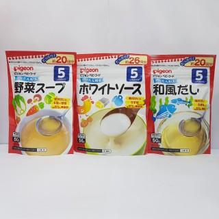 Bột Dashi Pigeon 5+ 50g Đủ Vị Nhật Bản [HSD T1-T3 2022] thumbnail