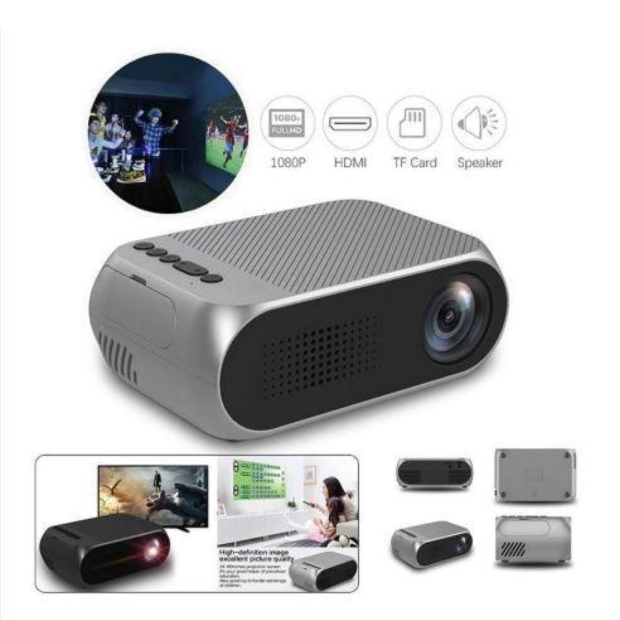 Máy chiếu Mini Smart Pro M1 1080p nhỏ gọn độ sáng 600 Lumens