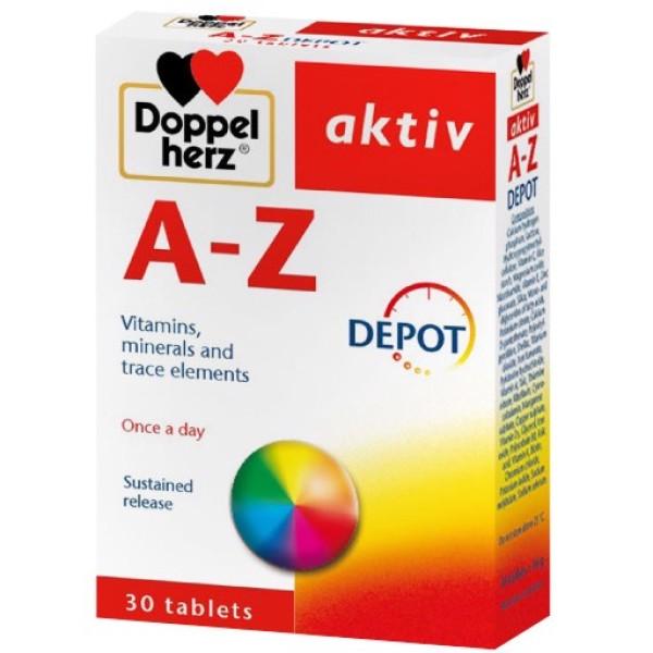 Vitamin tổng hợp Aktiv A-Z 30 viên