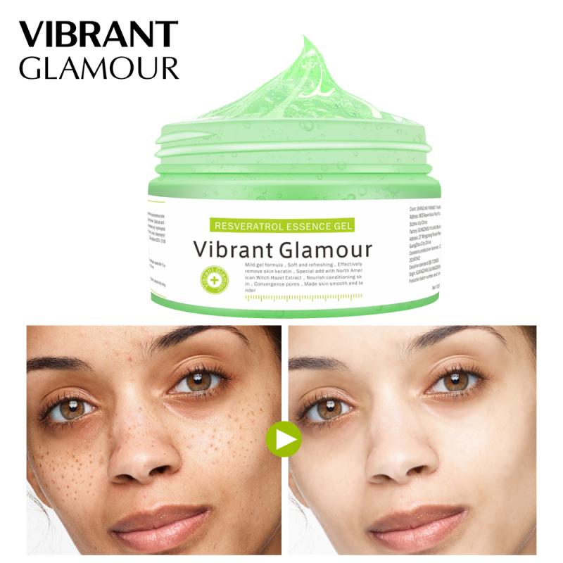 VIBRANT GLAMOUR Gel mặt nạ  làm trắng da mặt sạch da dưỡng ẩm sáng da chống lão hóa 100g - INTL giá rẻ