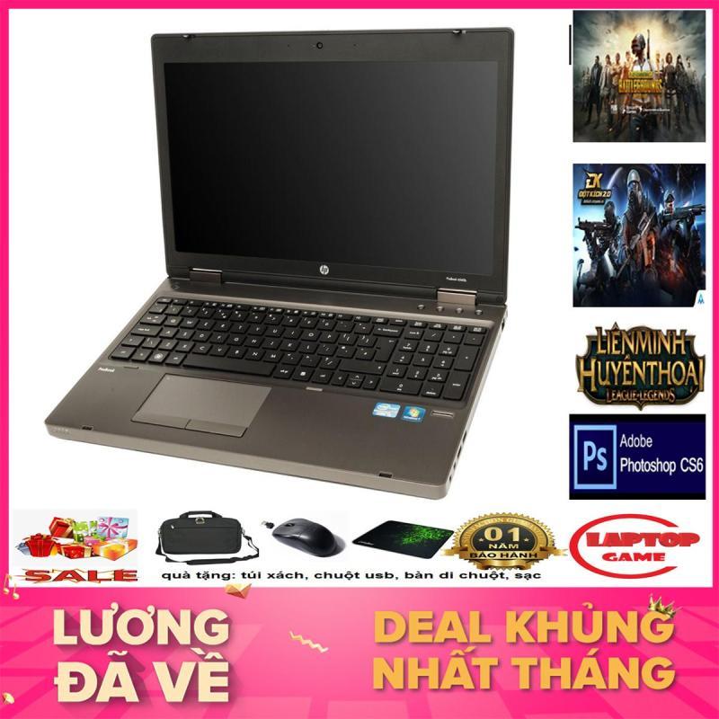 Laptop game+đồ họa -HP 6570B Core i5 3320M/ Ram 8G/ 250G/ Màn 15.6 inch  Phím Số, Vỏ Nhôm)