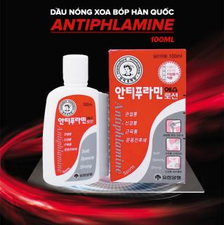 Dầu nóng giảm đau Antiphlamine 100ml - Hàn Quốc thumbnail