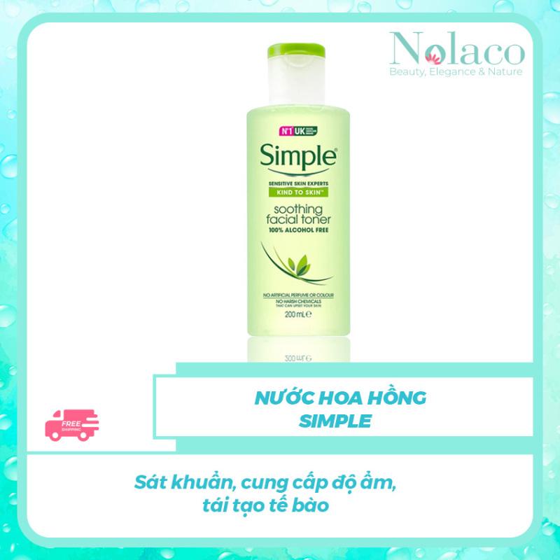 Nước hoa hồng Simple +  Sát khuẩn, cung cấp độ ẩm, tái tạo tế bào+ Nước hoa hồng cho da dầu, Nhật Bản + NOLACO giá rẻ