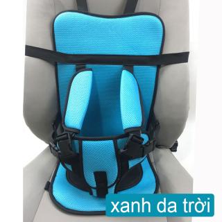 Sakora Ghế ngồi phụ dày đa năng trên xe hơi, ô tô bảo vệ an toàn cho bé từ 6 tháng - 4 tuổi (dưới 38kg)__phù hợp cho xe hơi xe điện ghế trẻ em (2 phong cách để lựa chọn ) thumbnail