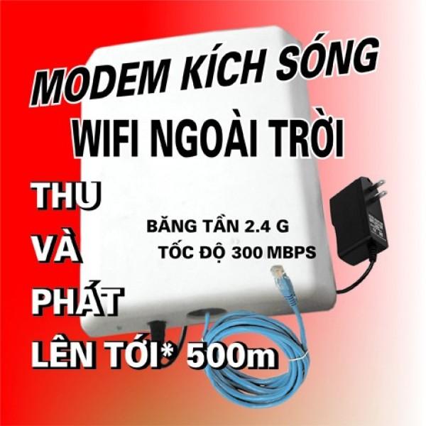 Bảng giá BỘ THU PHÁT SÓNG WIFI CÔNG SUẤT LỚN NGOÀI TRỜI TỚI 200 M. VER 1.0 Phong Vũ