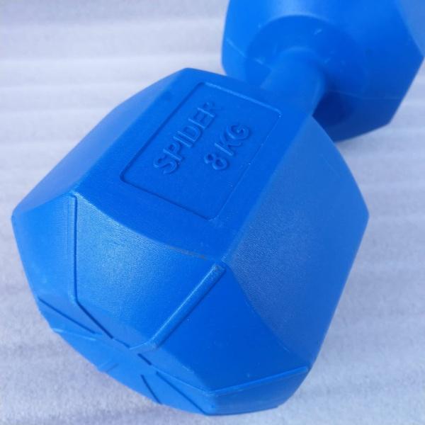 Vỏ tạ tay nhựa 8kg (chưa nhồi)
