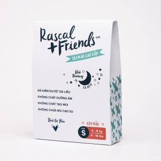 [DEAL SỐC][HÀNG DÙNG THỬ 3 MIẾNG] Tã Dán Rascal & Friends - Size S cho bé từ 4kg - 8 kg thumbnail