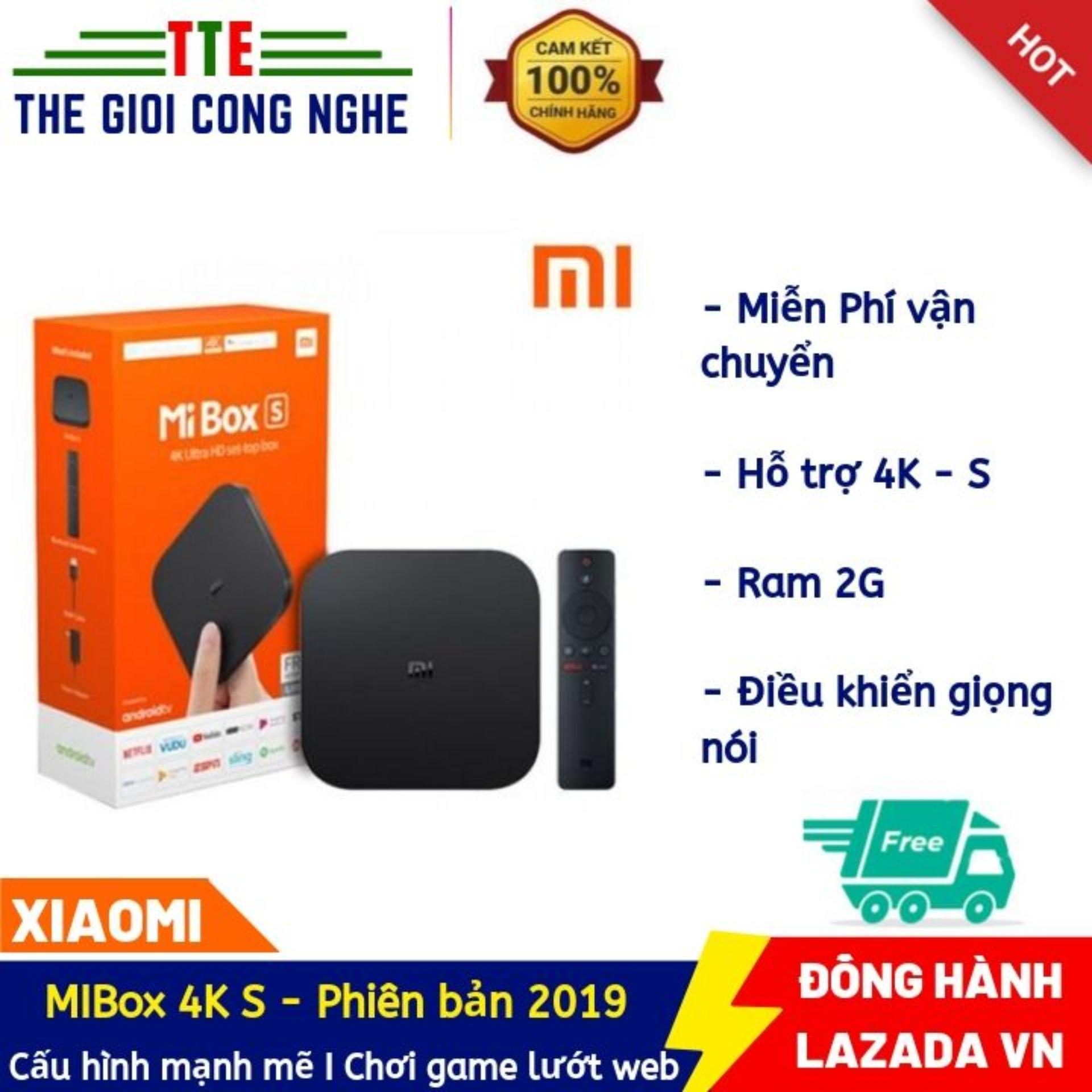 Bảng giá MIBOX S 4K QUỐC TẾ - TIẾNG VIỆT