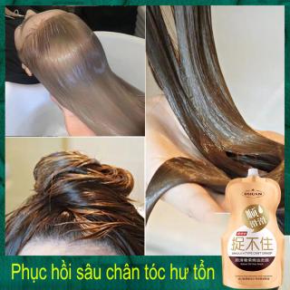 Phục Hồi Tóc Hư Tổn, Xịt dưỡng tóc nồng độ gấp đôi. Phục hồi tóc hư tổn, dưỡng tóc giúp tóc mềm mượt, dày hơn, bảo vệ tóc trước tia UV. thumbnail