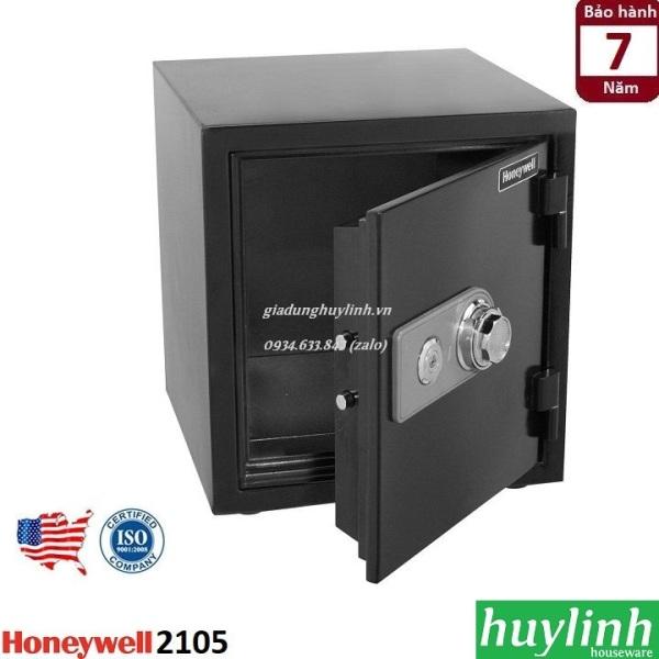 Két sắt khóa cơ chống cháy, chống nước Honeywell 2105 - Thương hiệu Mỹ