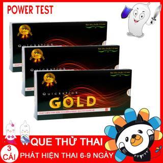 Que thử thai Powertest - Bộ 3 que thử thai sớm Quickstick GOLD thumbnail