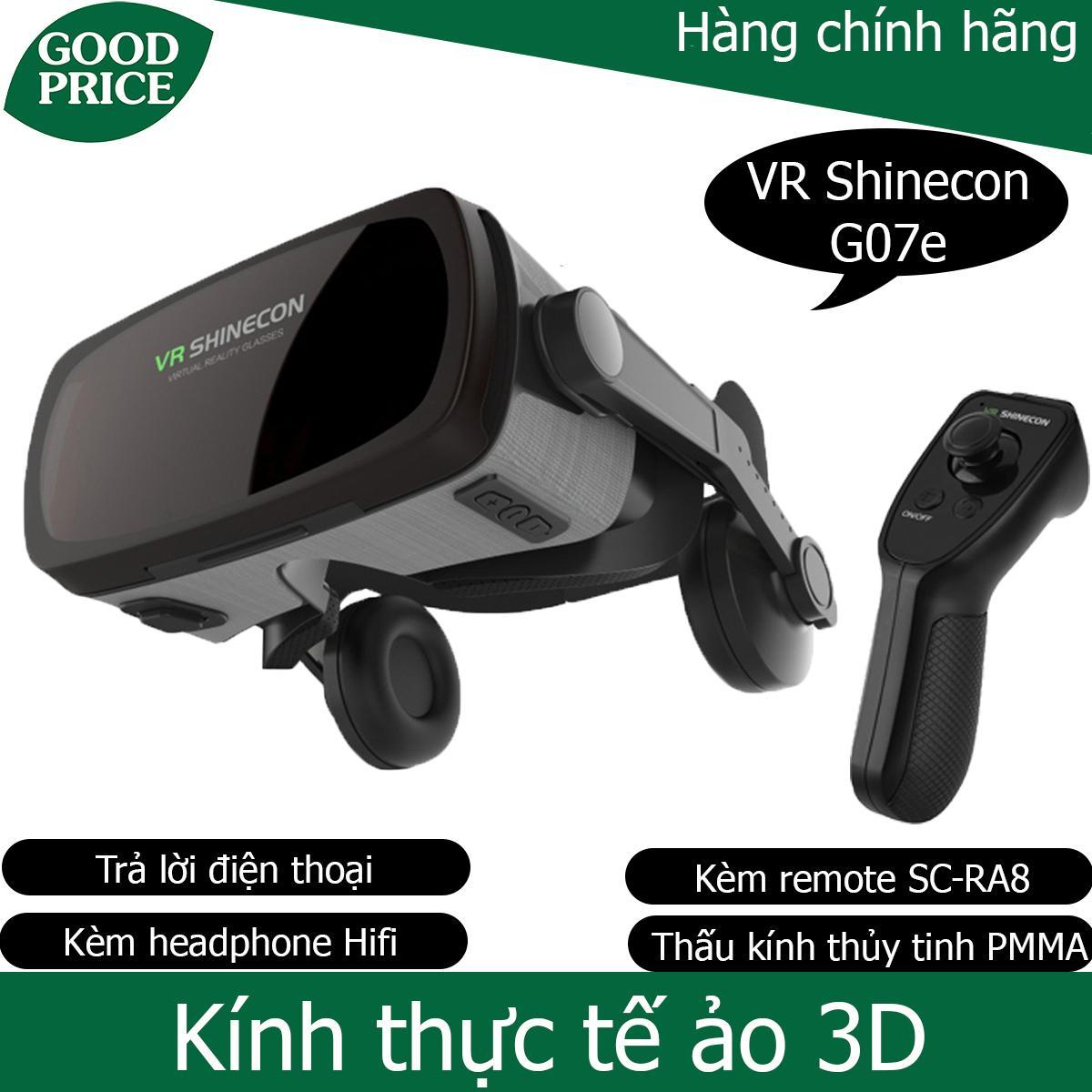 Kính thực tế ảo Vr Shinecon G07E - kèm remote bluetooth Shinecon SC-RA8