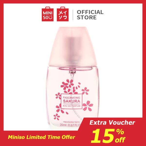 Nước hoa Sakura Lady quyến rũ thơm lâu Miniso 20ml tốt nhất