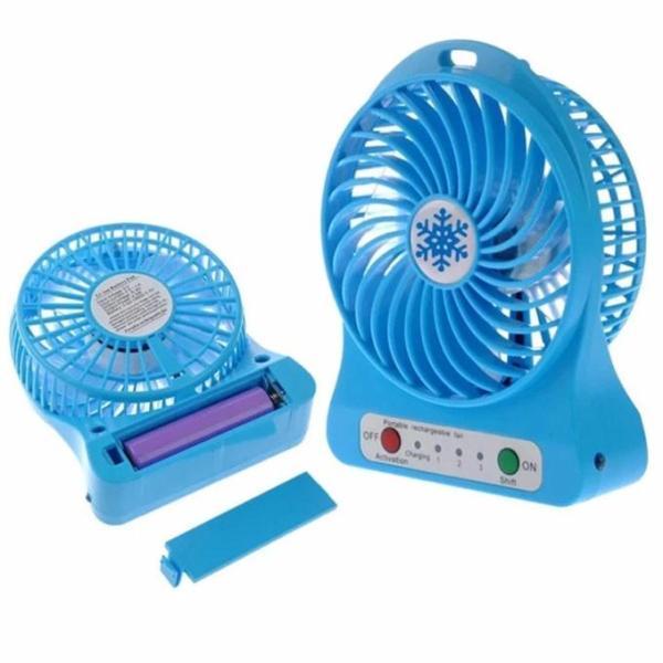 Quạt tích điện mini fan 3 chế độ