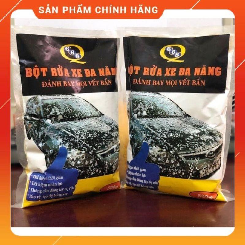 Bột rửa xe không chạm Q668 Tẩy thường-Chất lượng cao, công nghệ tiên tiến, không bong tróc sơn xe, không hại da tay