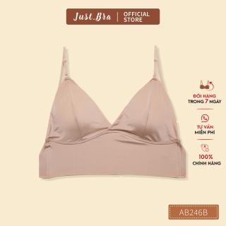 Áo ngực nữ Just Bra dây lưng mảnh trễ sâu, mút áo mỏng, diện khoe lưng, hở lưng AB246B thumbnail