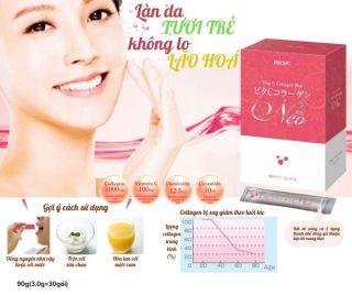 Collagen Neo Pricept, hạn chế lão hóa da, giúp da đàn hồi từ bên trong Nhật Bản 30g thumbnail