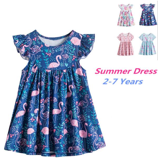 Giá bán Nileafes 2021 New Váy Kỳ Lân Bé Gái Dễ Thương Hiệu Váy Kỳ Lân Hình Khủng Long Nàng Tiên Cá Váy Không Tay Thời Trang Mùa Hè Cho Trẻ Em Váy Công Chúa Mặc Thường Ngày Từ 3-8 Tuổi
