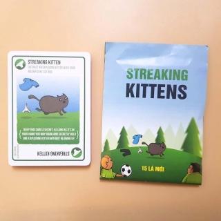 Mèo Nổ Mở Rộng Streaking Kittens - Bản Mở Rộng Số 5 thumbnail