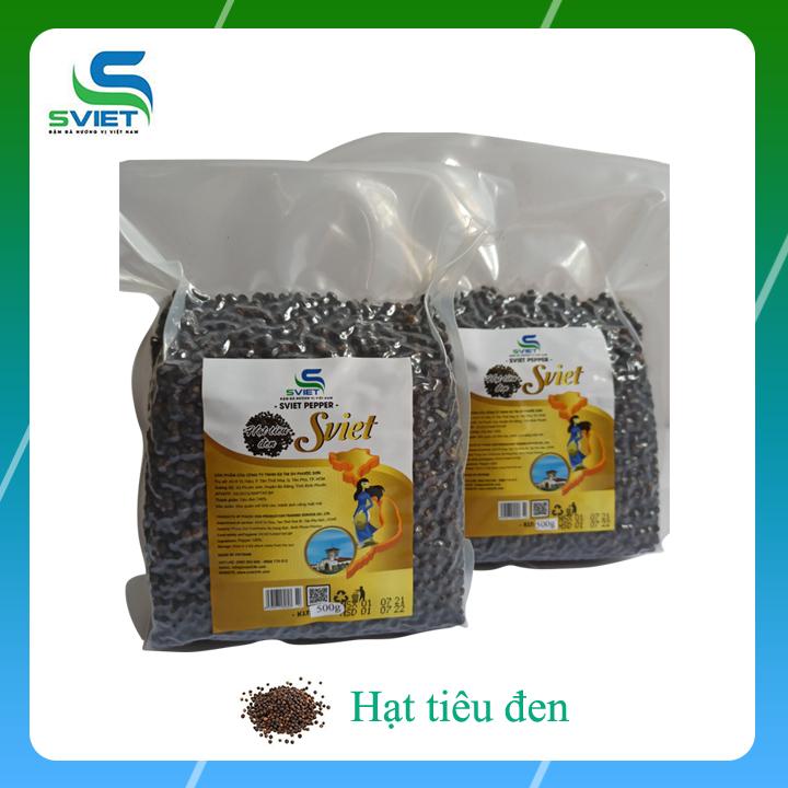 [HCM]1kg tiêu hữu cơ - Được trồng theo tiêu chuẩn quốc tế hoa kỳ tại nông trại Sviet Bình Phước niên vụ 2021