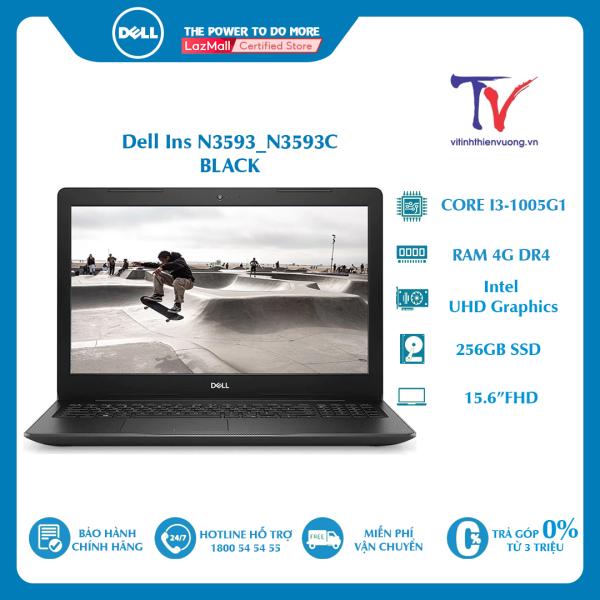 Bảng giá Laptop Dell Inspiron 15 3593-N3593C (15.6 FHD/i3-1005G1/4GB/256GB SSD/Intel UHD/Win10/2kg) Phong Vũ