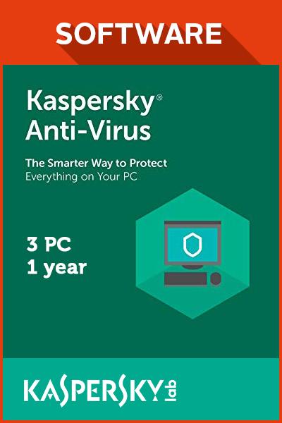 Bảng giá Kaspersky Anti-Virus cho 3PC Phong Vũ