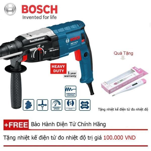 Máy khoan búa Bosch GBH 2-28 DV + Quà tặng nhiệt kế điện tử