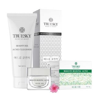 Bộ giảm mụn da mặt Truesky gồm 1 kem ngăn ngừa và giảm mụn 8g + 1 sữa rửa mặt tạo bọt than hoạt tính 60ml thumbnail