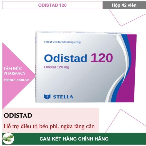 ORLISTAT / ODISTAD 120mg [Hộp 42 viên] - Giúp giảm cân và phòng ngừa tăng cân