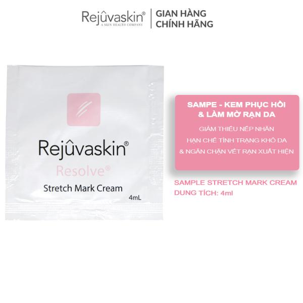 Sample kem phòng ngừa và giảm rạn da REJUVASKIN Stretch Mark Cream 4ml
