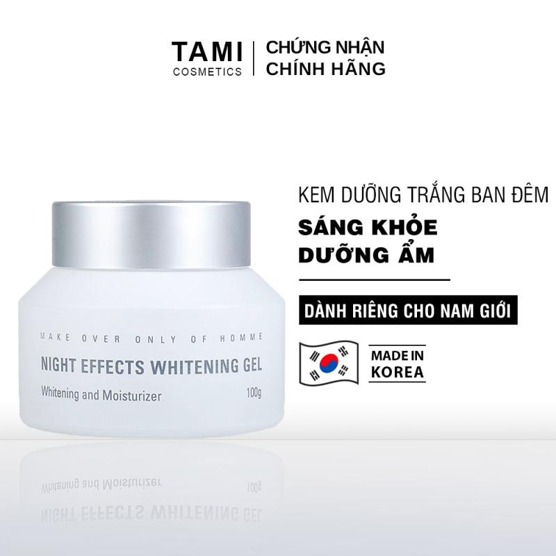 Kem dưỡng trắng da ban đêm dành cho nam MdoC Night Effect Whitening Gel 100g TM-MKD01