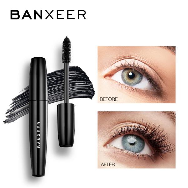 BANXEER Mascara  Màu Đen Chống Nước Lâu Trôi