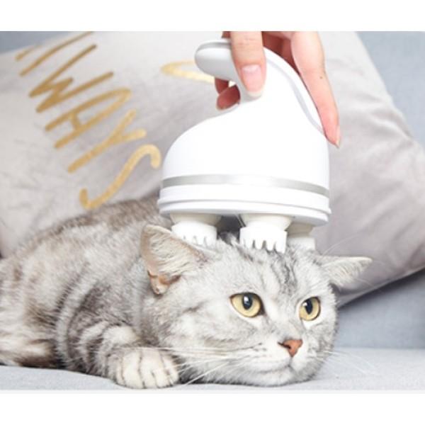 Máy Massage Cho Chó Mèo Thư Giãn, Giảm Căng Thẳng- Mát Xa Cho Người, Cún Mèo Con Mèo Xiêm