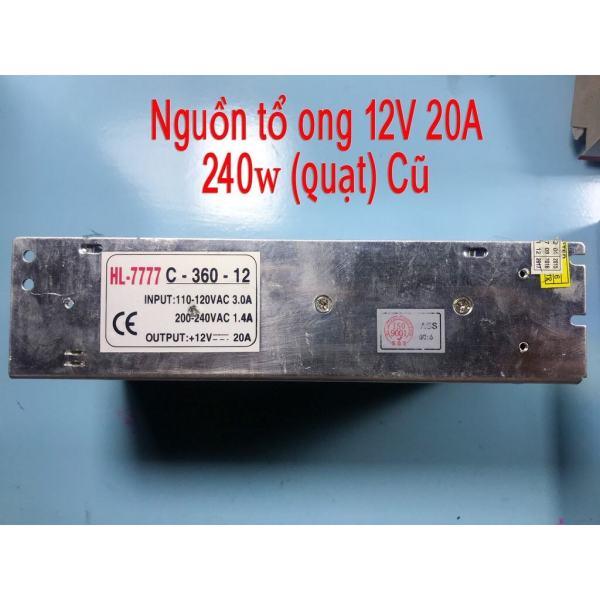 Bảng giá (hàng chất lượng )NGUỒN TỔ ONG 12v 30A(360w)(quạt)cũ Phong Vũ