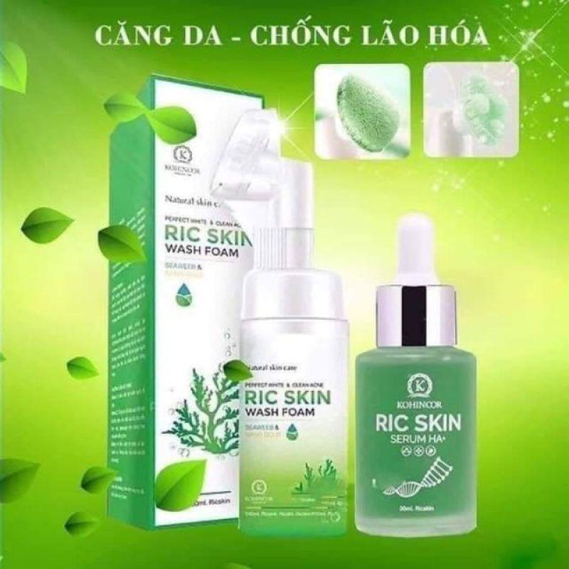 Serum Ric Skin HA+ da sáng, giảm thâm nám hiệu quả