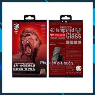 Kính cường lực Iphone Kingkong Chống Ngó FULL MÀN - đủ dòng từ 6-XSMAX thumbnail