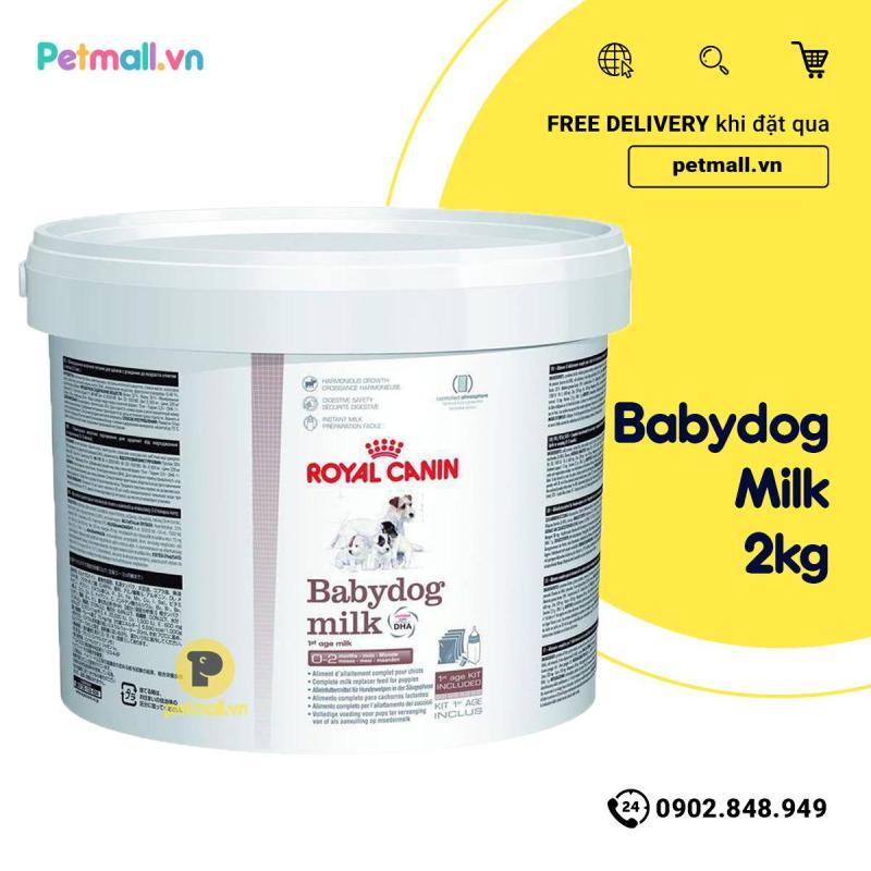 Sữa cho Chó Royal Canin BABYDOG - 2kg