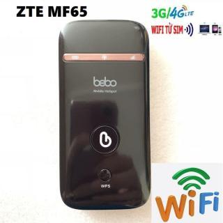Bộ Phát Wifi Di Động Từ Sim 3G 4G ZTE MF65 - TẶNG SIM 4G từ MƯỜNG THANH ROYAL thumbnail